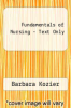 cover of Fundamentals of Nursing - Text Only (7th edition)