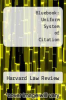 Bluebook: Uniform System of Citation by Harvard Law Review - ISBN 9780006810100