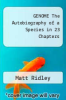 cover of GENOME The Autobiography of a Species in 23 Chapters