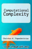 cover of Computational Complexity