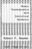 cover of Modern Thermodynamics With Statistical Mechanics