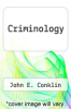 cover of Criminology (2nd edition)