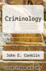 cover of Criminology (3rd edition)