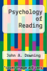 cover of Psychology of Reading