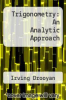cover of Trigonometry: An Analytic Approach (4th edition)