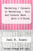 "cover of Marketing / Careers in Marketing  - Text and Careers Book .. With 2-3""Disks (6th edition)"