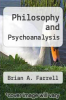 cover of Philosophy and Psychoanalysis