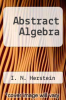 cover of Abstract Algebra