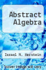 cover of Abstract Algebra (2nd edition)