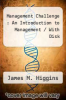 cover of Management Challenge : An Introduction to Management / With Disk (2nd edition)