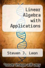 cover of Linear Algebra with Applications (2nd edition)