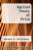 cover of Applied Theory of Price