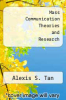 cover of Mass Communication Theories and Research (2nd edition)