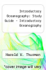 cover of Introductory Oceanography: Study Guide - Introductory Oceanography (7th edition)