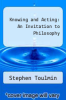 cover of Knowing and Acting: An Invitation to Philosophy