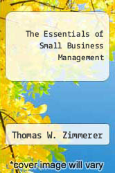 Cover of The Essentials of Small Business Management EDITIONDESC (ISBN 978-0024317506)