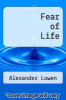 cover of Fear of Life