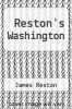 cover of Reston`s Washington