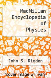 Cover of MacMillan Encyclopedia of Physics EDITIONDESC (ISBN 978-0028645889)