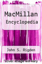 Cover of MacMillan Encyclopedia EDITIONDESC (ISBN 978-0028645896)