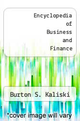 Cover of Encyclopedia of Business and Finance 2 (ISBN 978-0028660622)