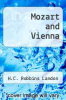cover of Mozart and Vienna (1st edition)