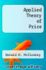 cover of Applied Theory of Price (2nd edition)