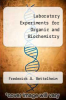 cover of Laboratory Experiments for Organic and Biochemistry (2nd edition)