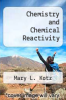 cover of Chemistry and Chemical Reactivity (3rd edition)