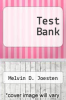 cover of Test Bank (2nd edition)
