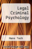 cover of Legal Criminal Psychology (1st edition)
