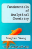 cover of Fundamentals of Analytical Chemistry (7th edition)