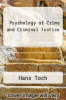 cover of Psychology of Crime and Criminal Justice