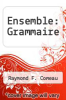 cover of Ensemble: Grammaire (6th edition)