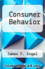 cover of Consumer Behavior (6th edition)