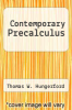 cover of Contemporary Precalculus (3rd edition)