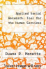 cover of Applied Social Research: Tool for the Human Services (2nd edition)