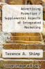 cover of Advertising Promotion / Supplemental Aspects of Integrated Marketing