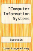 cover of Computer Information Systems