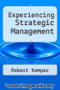 cover of Experiencing Strategic Management (4th edition)