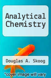 Cover of Analytical Chemistry 5 (ISBN 978-0030299285)