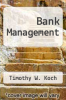 cover of Bank Management (2nd edition)