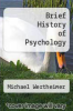 cover of Brief History of Psychology (2nd edition)