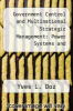 cover of Government Control and Multinational Strategic Management: Power Systems and Telecommunication Equipment