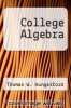 cover of College Algebra (2nd edition)