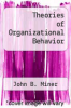 cover of Theories of Organizational Behavior