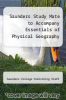 cover of Saunders Study Mate to Accompany Essentials of Physical Geography (4th edition)