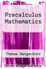 cover of Precalculus Mathematics (3rd edition)