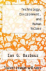 cover of Technology, Environment, and Human Values