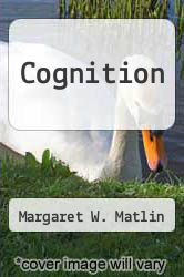 Cover of Cognition EDITIONDESC (ISBN 978-0030574610)